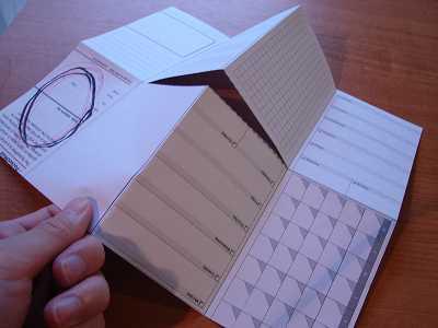 オリジナルメモ帳を作ってみよう!