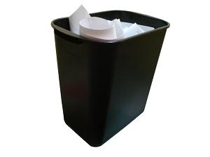 ゴミ箱へ捨てる時の確認メッセージを表示させなくする