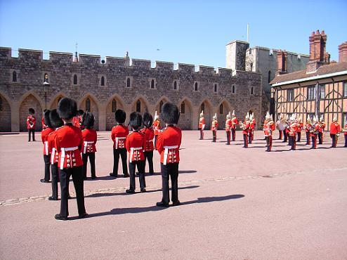 ウィンザー城での衛兵交代 2