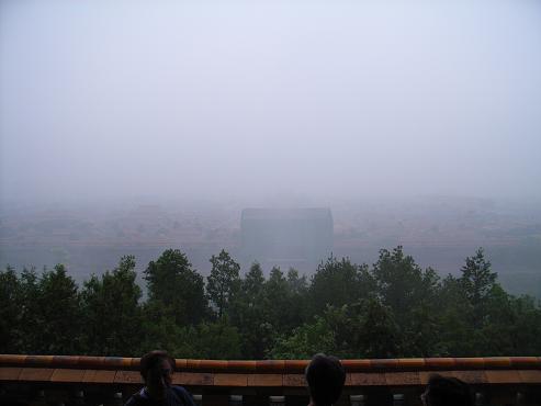 景山公園から見た故宮
