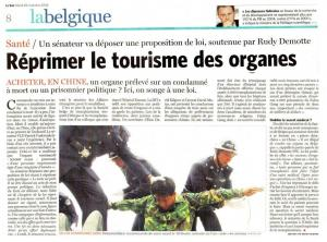 ベルギー紙「ル_ソワ」