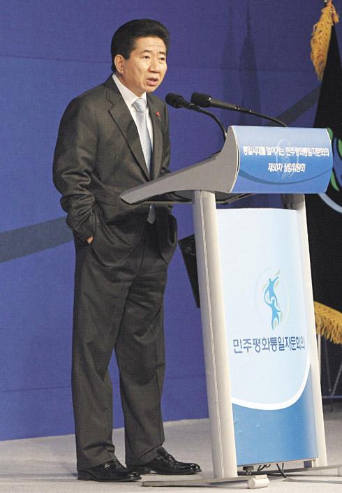 凛々しき盧武鉉大統領!