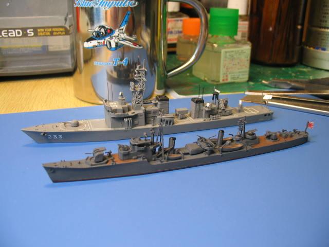 丁型駆逐艦「柳」?