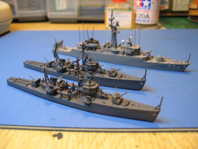 海防艦215と219