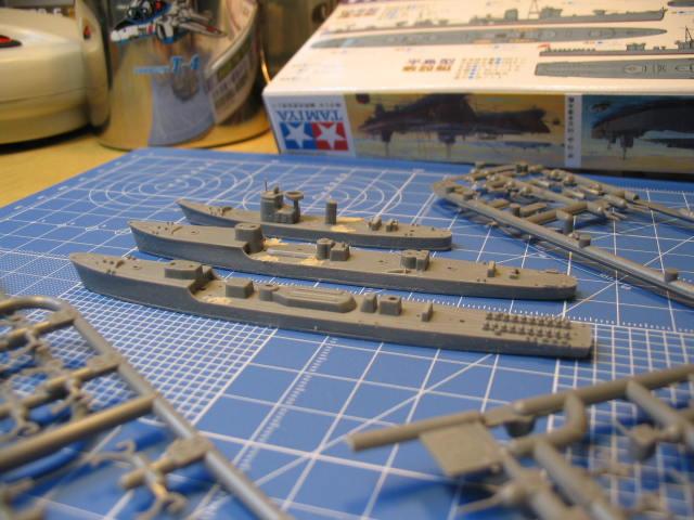 掃海艇、駆潜艇、敷設艇?