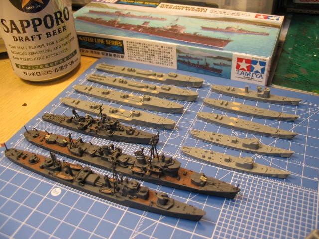 掃海艇、敷設艇、駆潜艇?