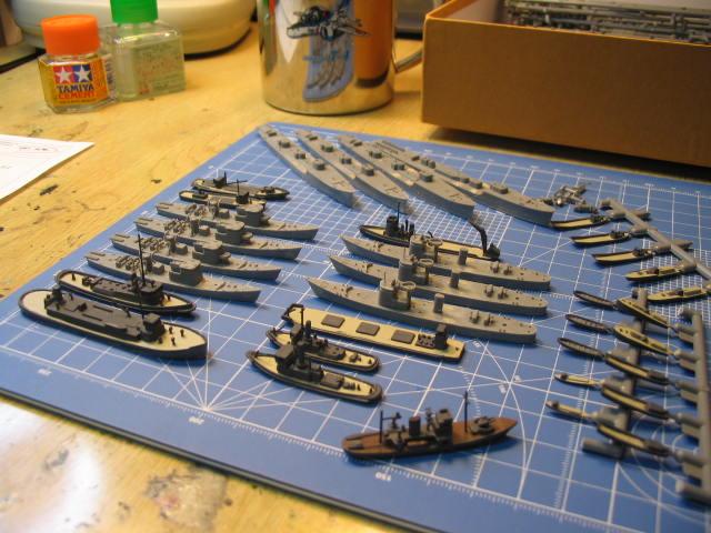 駆潜艇など