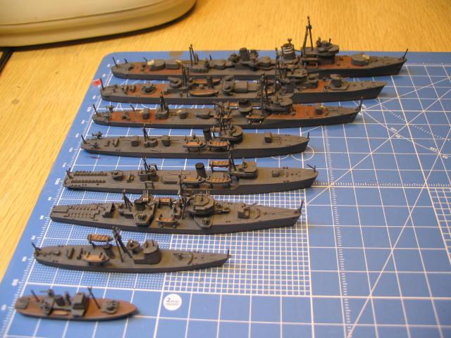 小型艦船比べ
