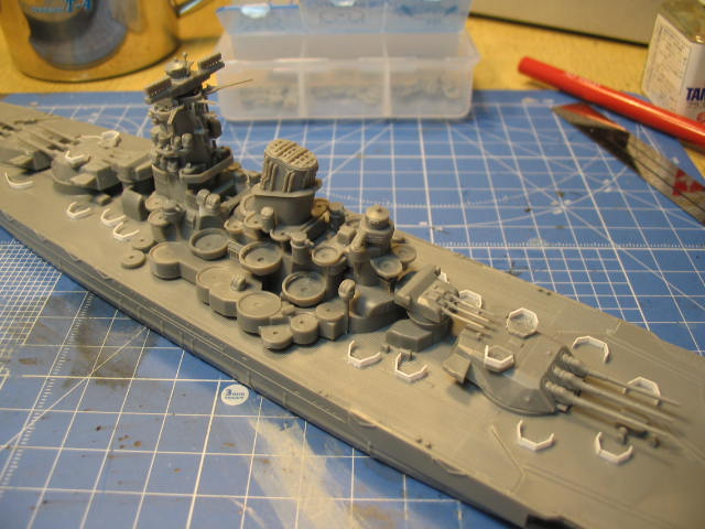 戦艦「大和」の3