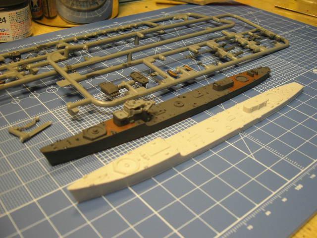 丁型駆逐艦「柳」