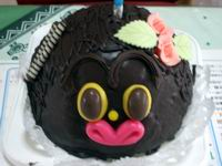 ダッコチャンみたいなケーキだ