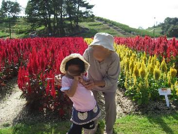 娘とひいばあちゃん