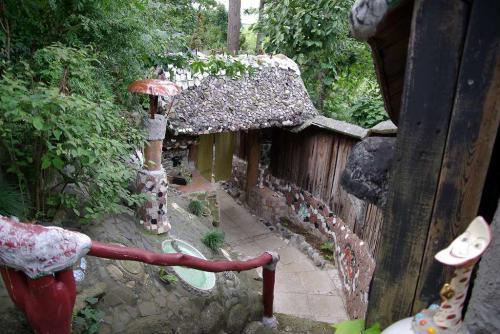 竹やぶ 門