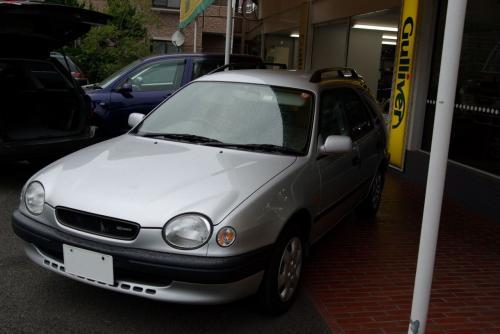 父の車 カリブ ロッソ 98