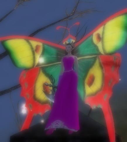 麟花蝶になる