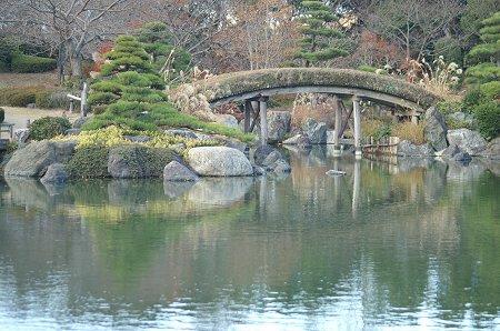 日本庭園。