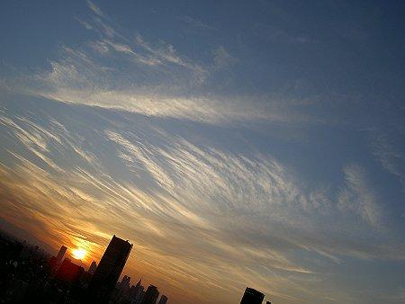 東京タワーより夕暮時の街を望む02.