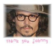ジョニーありがとう♪