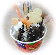 ハロウィンのアイス