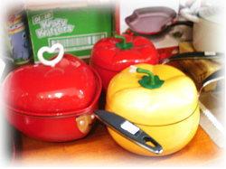 野菜とハートのお鍋♪