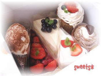 久しぶりのケーキ♪