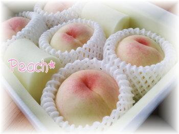 岡山の桃♪