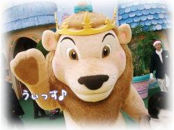 可愛いライオンさん♪