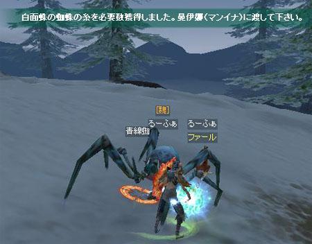 蜘蛛クエ051501