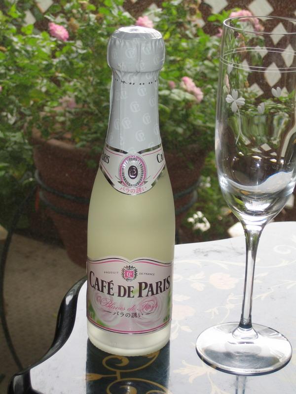 カフェドパリ CAFE DE PARIS キリン KIRIN バラ スパークリングワイン