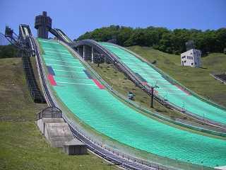 白馬.スキージャンプ台