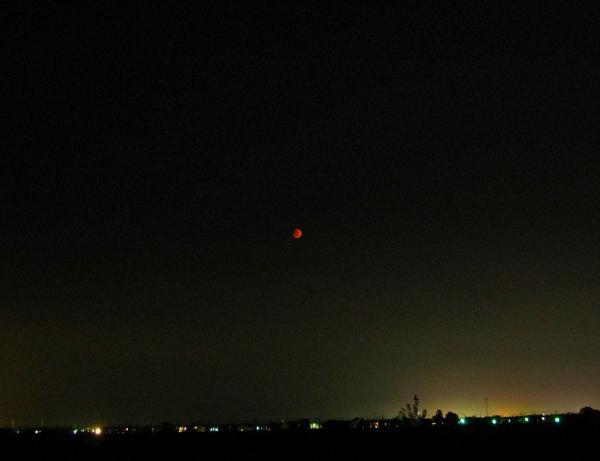 空と月と。。。