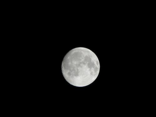 月ですね~~