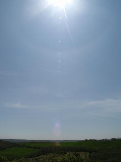 広くて高~~い。。。空とお日様