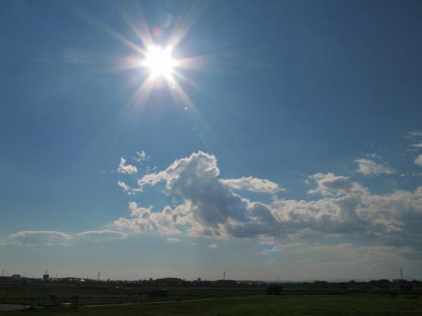 夏の空だ~~~