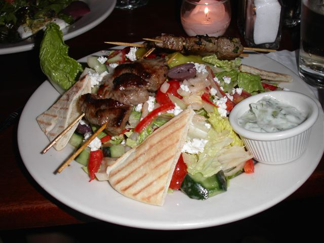 merchantsny lamb salad