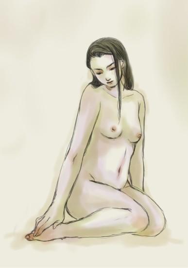 纏足女性1