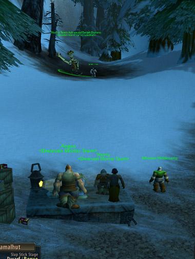 ドワーフ迫撃砲チームを見学してみたり