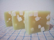 067-Pale green soap