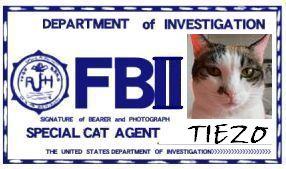 CAT連邦捜査官 NO.009 「TIEZO」