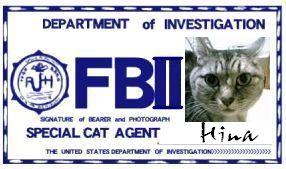 CAT連邦捜査官 NO.013 「Hina」