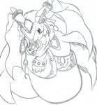 シャオルーン(白黒)