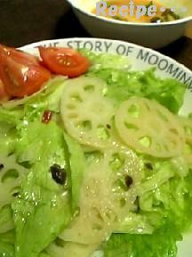 れんこんサラダ1