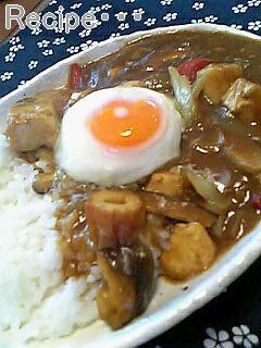シーチキンと豆腐の和風カレー