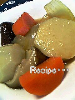里芋の洋風煮 味噌バター風味