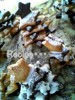 クッキーで作るクリスマスツリー♪