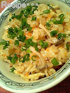 めんつゆで作る簡単たきこみご飯♪