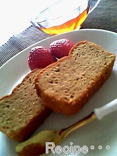 黒糖とマンゴーのパウンドケーキ♪