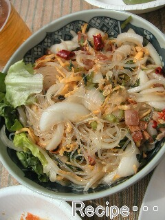 タイ風サラダ♪