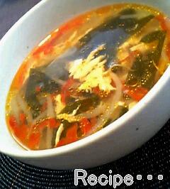 スープも辛いもの好きじゃないと、食べられないです(^^;)