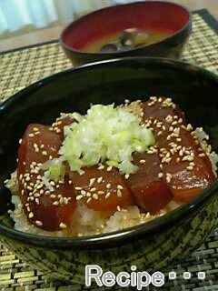 ヅケ丼、美味しい~☆